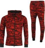 Joggingpak Camo Red