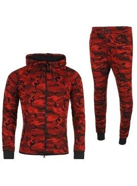 Joggingpak Camo Red (S)