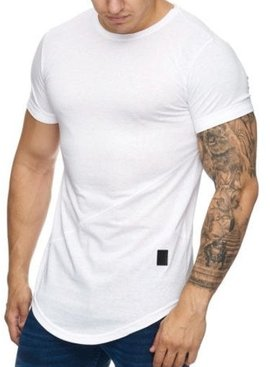 T-shirt Slim Fit White (S/L/XL)