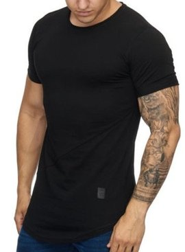 T-shirt Slim Fit Black (S)