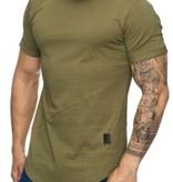 T-shirt Slim Fit Camo Green