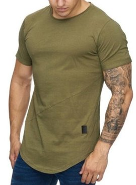 T-shirt Slim Fit Camo Green (S)