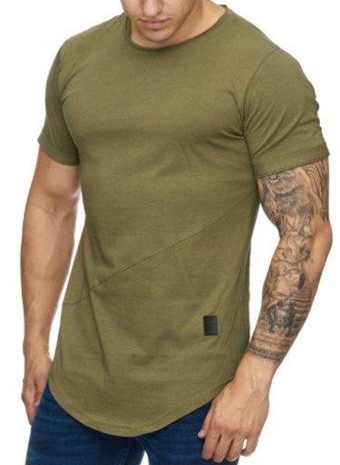 T-shirt Slim Fit Green GR9020