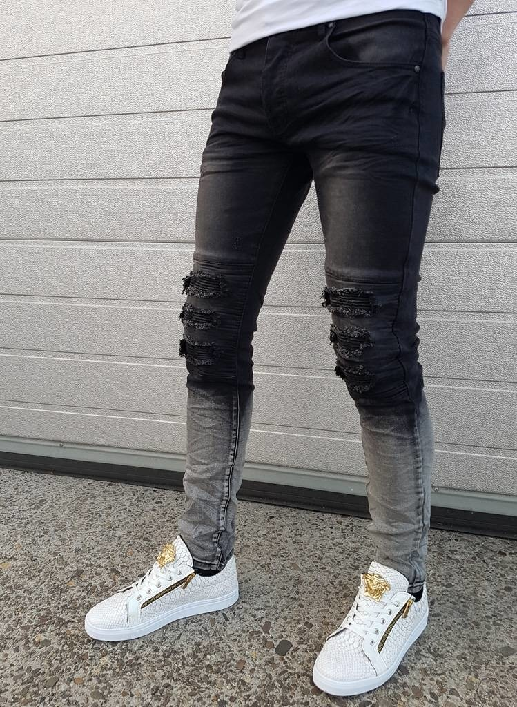 Faded & Ripped Jeans