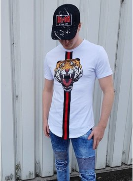 T-shirt Tiger White (S/XL)