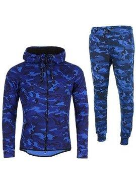 Joggingpak Camo Blue (XS/S/M)