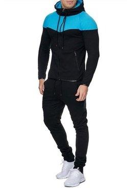 Trainingspak Zwart Turquoise (M/L)