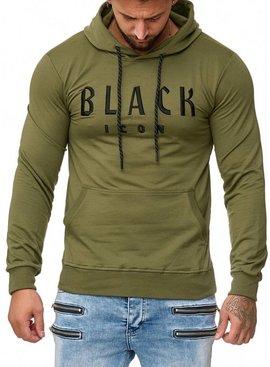 Black Icon Trui Groen (S/M/L)
