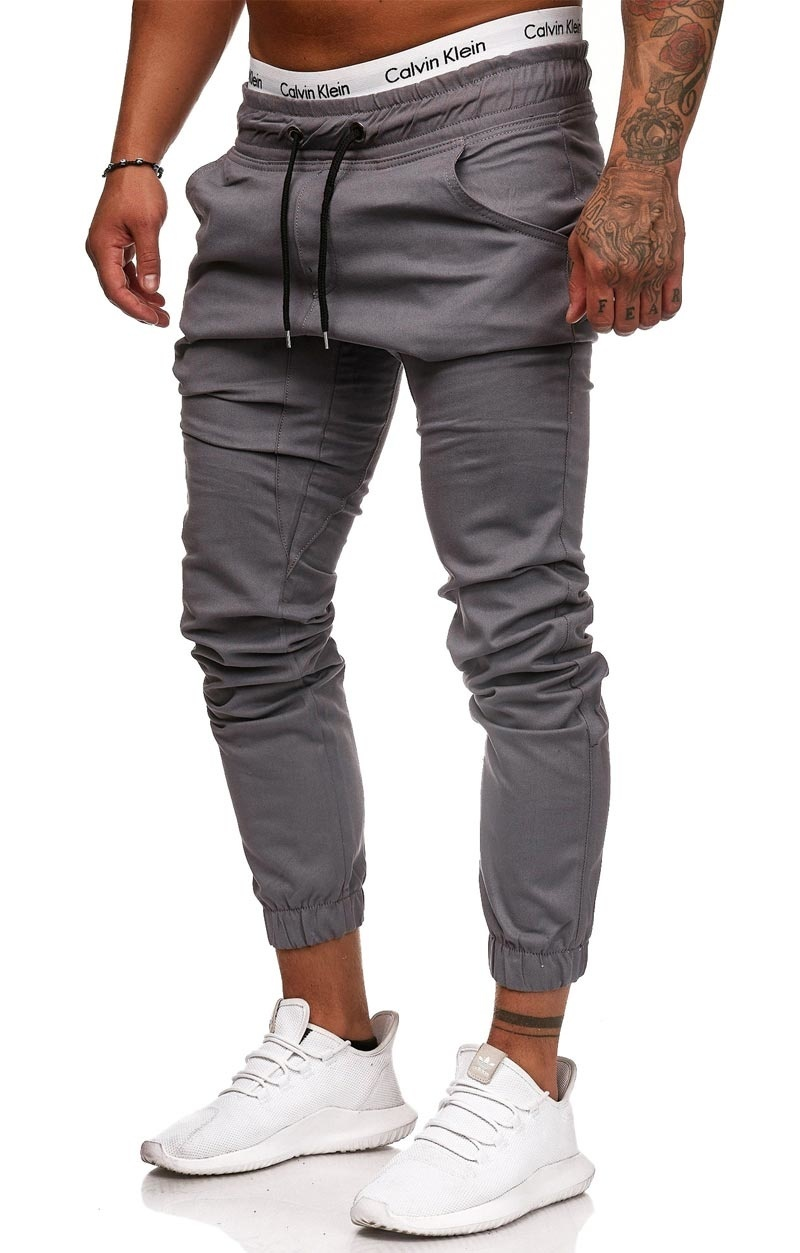 Chino | Slim-Fit | Grijs | G1510