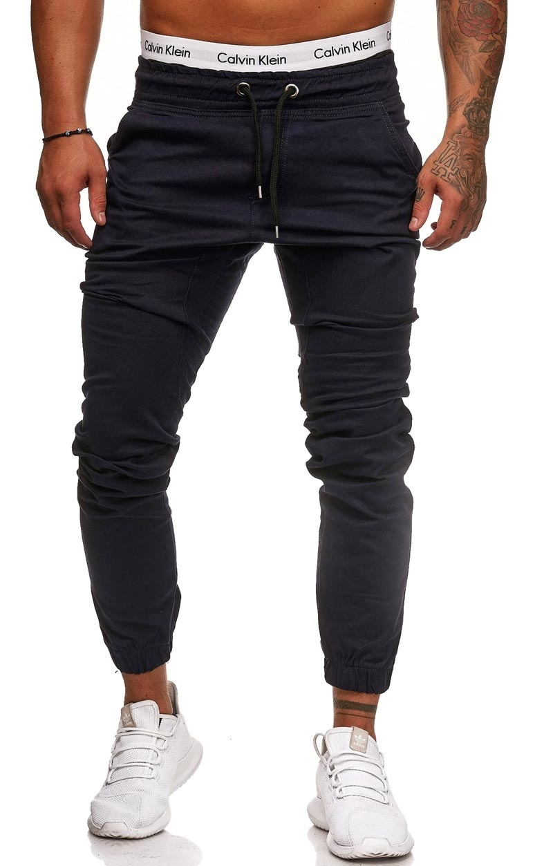 Chino | Slim-Fit | Donkerblauw | D1510