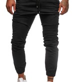 Chino | Slim-Fit | Zwart | Z1510
