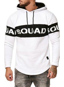 Trui | Slim-Fit | Squad | Wit | W11229
