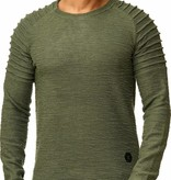 Sweater | Normal-Fit | Ribbed | Groen | GR16738