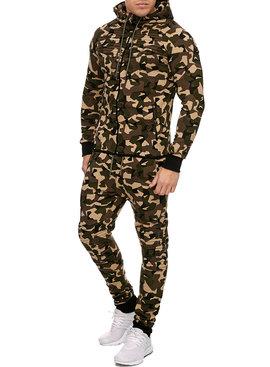 Camouflage Trainingspak Khaki (XS/S/M)