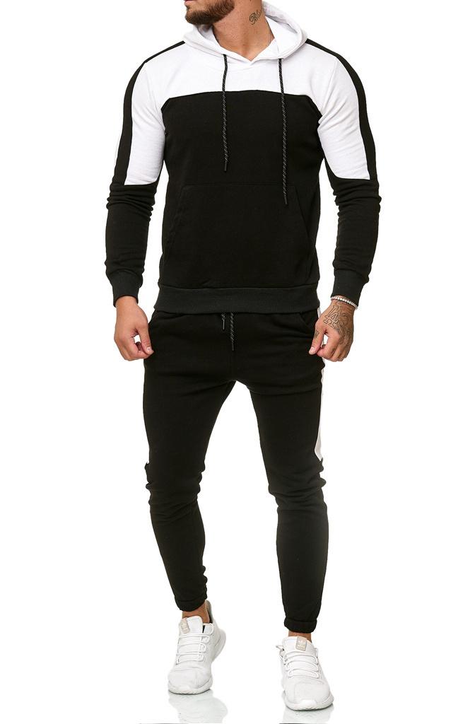 Joggingpak | 2 Tone | Zwart Wit