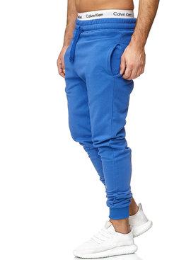 Joggingbroek | Classic | Slim / Normal fit | Blauw