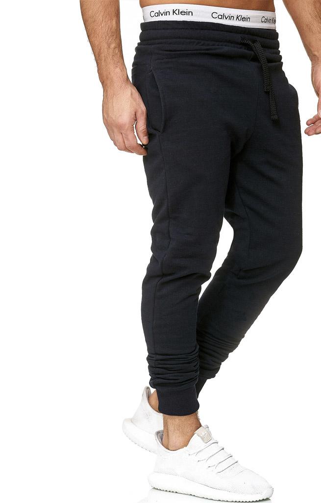 Joggingbroek | Classic | Slim / Normal fit | Navy