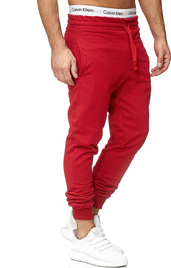 Joggingbroek | Classic | Slim / Normal fit | Rood