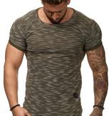 T-shirt Special | Slim-Fit | Groen | G1W8