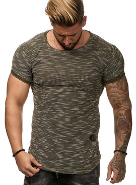 T-shirt Special | Slim-Fit | Groen | G1W8