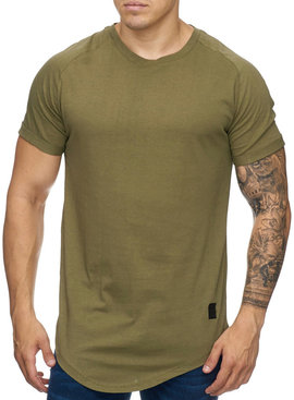 T-shirt Slim Fit Groen GR9010