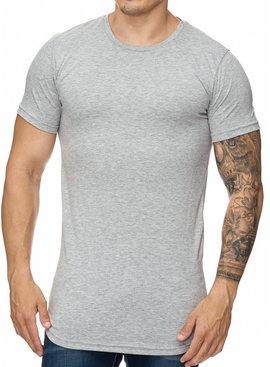 T-shirt Slim & Long Fit Grijs GR1023