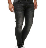 Jeans Dark Grey Washed