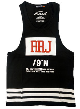 ReRock Tank Top RRJ Black
