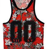 ReRock Tank Top Flowers 00 Red