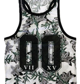 ReRock Tank Top Flowers 00 White