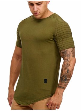 T-shirt Groen GR9050 Ribbed (L)