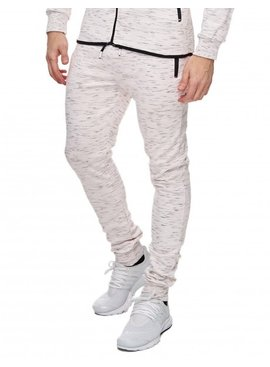 Joggingbroek Faded Wit (XL/XXL)