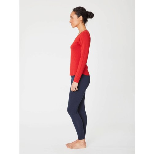 Thought Basic Legging aus Bambus Viskose in der Farbe Navy