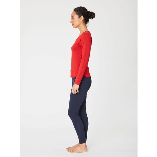 Thought Basic Longsleeve in der Farbe Rot