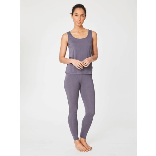 Thought Basic Legging aus Bambus Viskose in der Farbe  Slate Grey