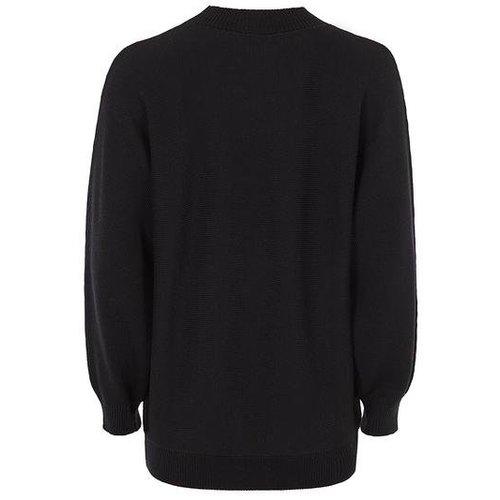 Mandala Fashion Yoga Pullover Reserve Shirt in der Farbe Schwarz