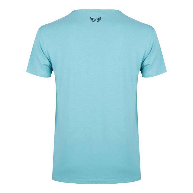 Yoga Männer Shirt Moksha Zen in der Farbe Sea Green