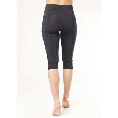 Kismet Yoga Shape Legging Anisha Capri in der Farbe Anthrazit