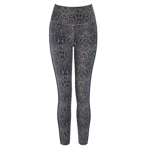 Asquith London Flow with it Yoga Leggings in der Farbe Snake/Navy