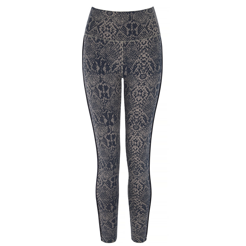 Flow with it Yoga Leggings in der Farbe Snake/Navy