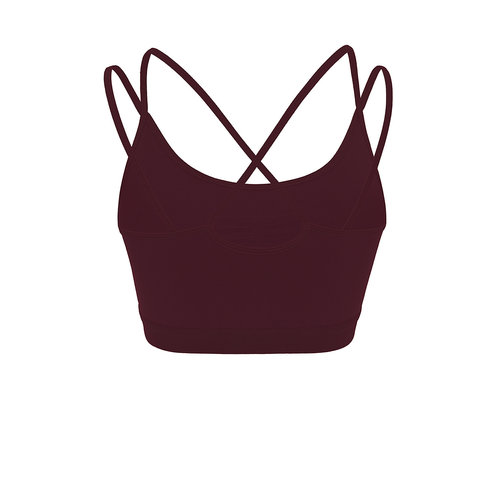 Mandala Fashion Slim Studio Bra in der Farbe Wine