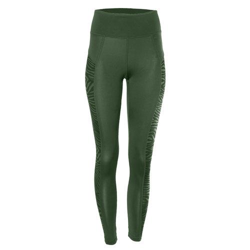 Kismet Yogastyle Anisha Shape Leggings in der Farbe Deep Jade/Zebra - Copy