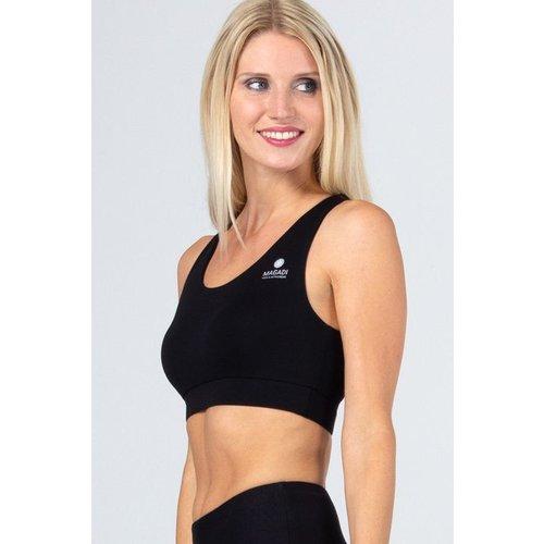 Magadi Yoga & Pilates Activewear Yoga Bra Lola in der Farbe schwarz