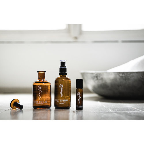 Saint Charles Apothecary  Yoga Öle Aromatheraphie - Yoga Body Öl Rising Heart - Copy