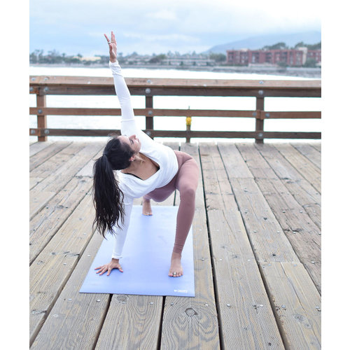 B-Yoga B Mat Traveller in der Farbe Morning Blue