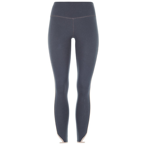 Mandala Fashion Cropped Yoga Tights in der Farbe Stone