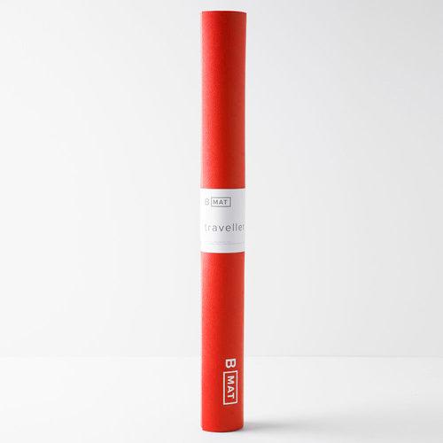 B-Yoga B Mat Traveller Long in der Farbe Sunrise Red