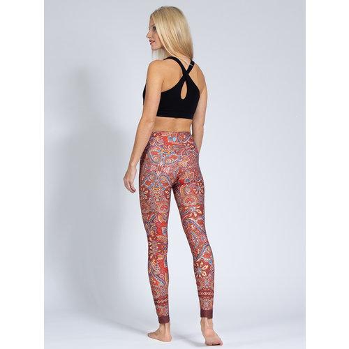 Magadi Yoga & Pilates Activewear Print Legging  Harmony