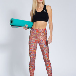 Magadi Yoga & Pilates Activewear Print Legging  Harmony