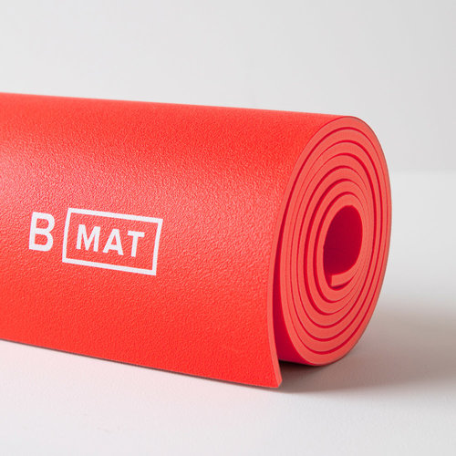 B-Yoga B Mat Strong in der Farbe Sunrise Red